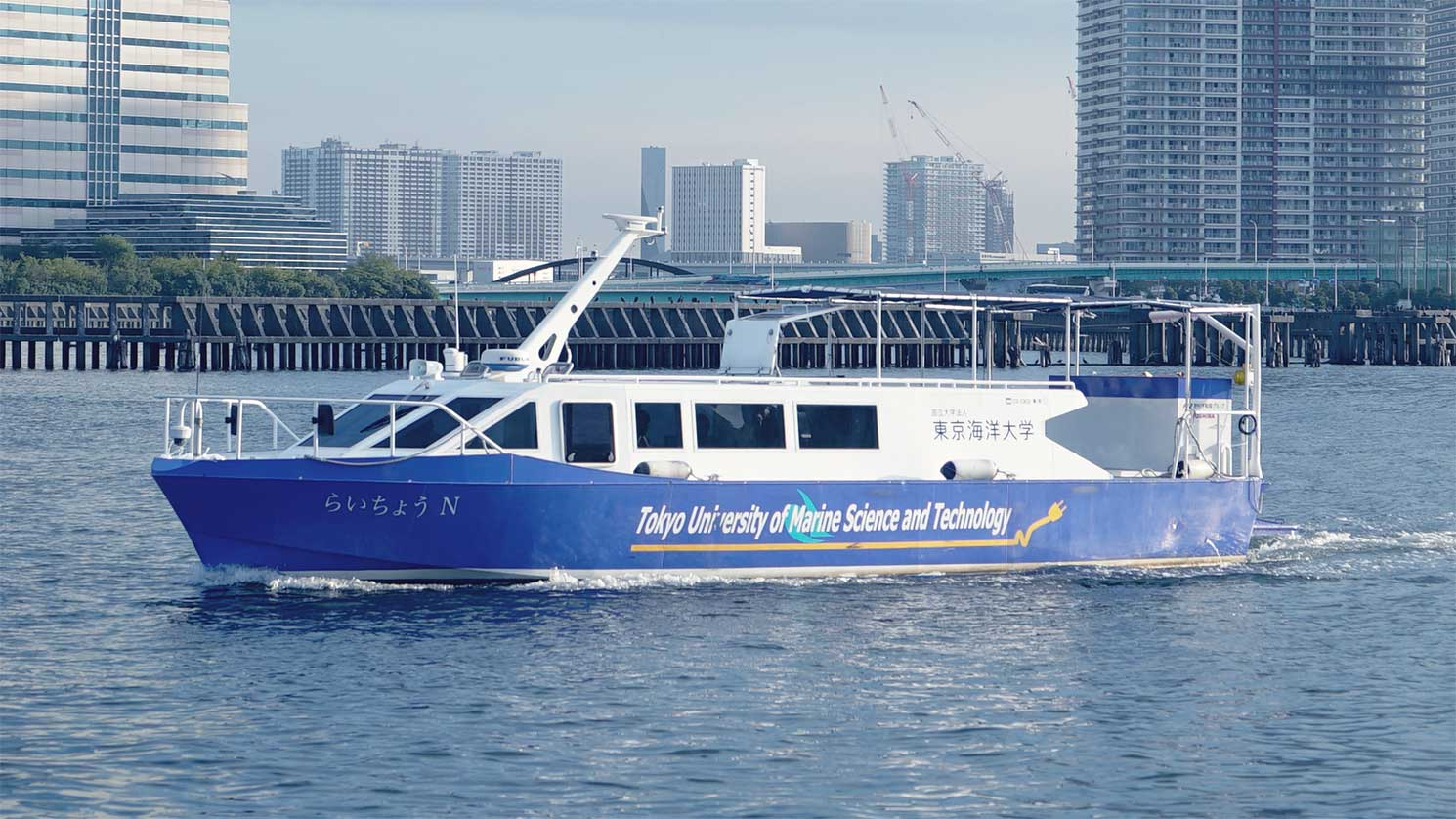 Toshiba livre un système mobile de piles à hydrogène pour bateau