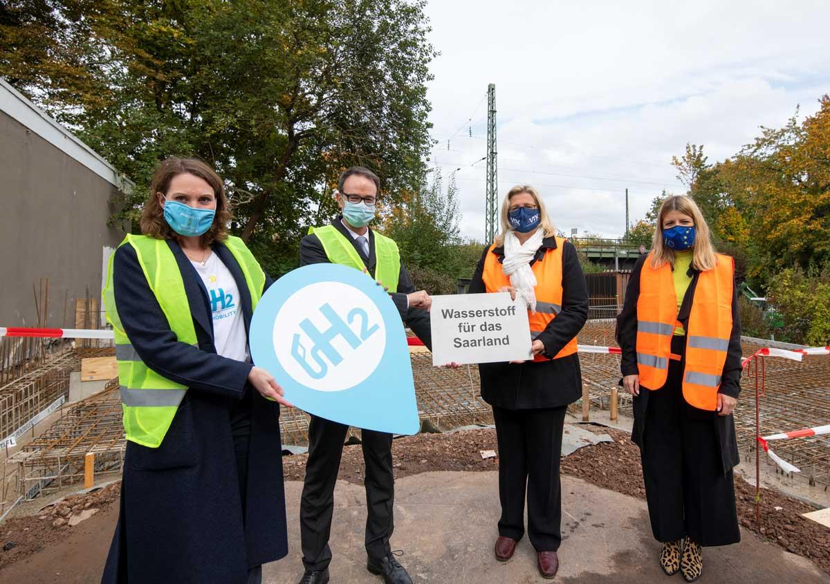 Allemagne : Total entame avec Air Liquide les travaux de la station hydrogène de Sarrebruck