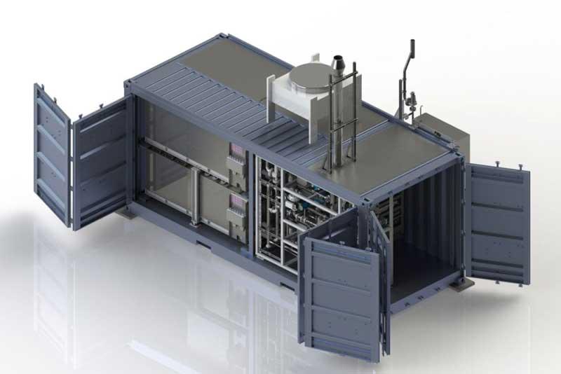 Sunfire et Total s'associent pour une production efficace d'hydrogène