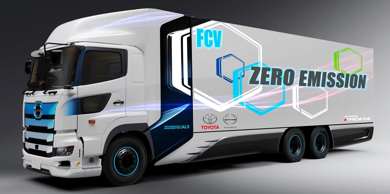 Camions à hydrogène : Toyota, Hino et Isuzu forment une nouvelle alliance