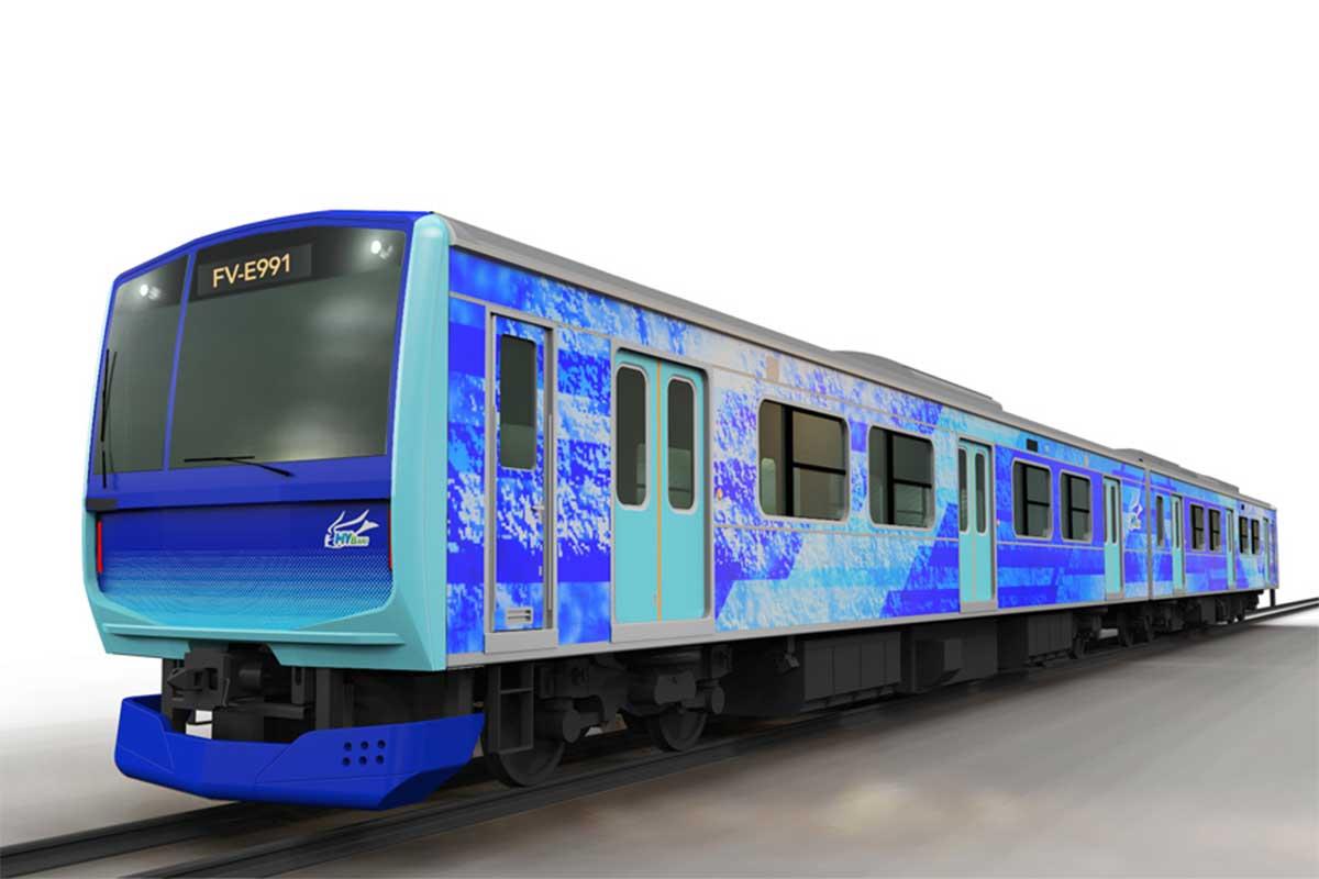 JR East, Hitachi et Toyota vont développer des trains hybrides à hydrogène