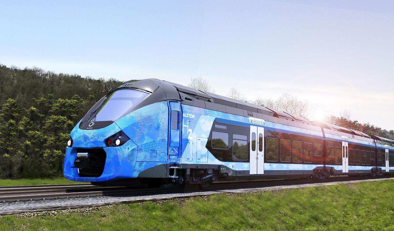 Plastic Omnium embarque à bord des trains à hydrogène d'Alstom