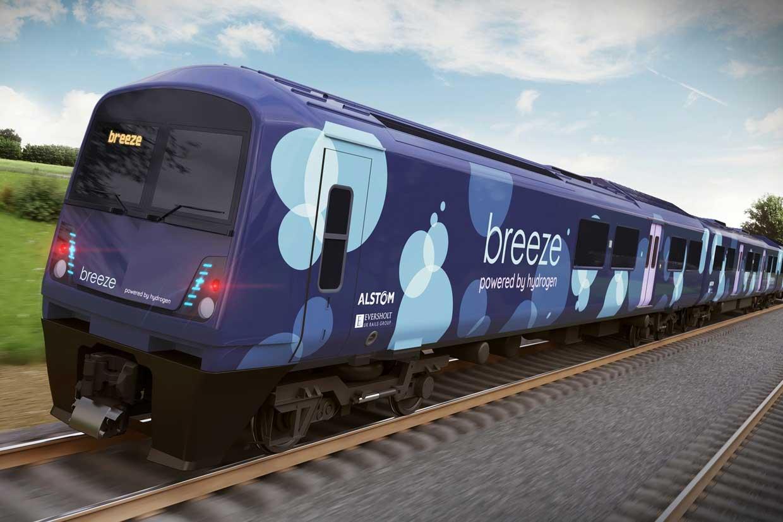 Angleterre : les Midlands de l'Est vont tester le train à hydrogène