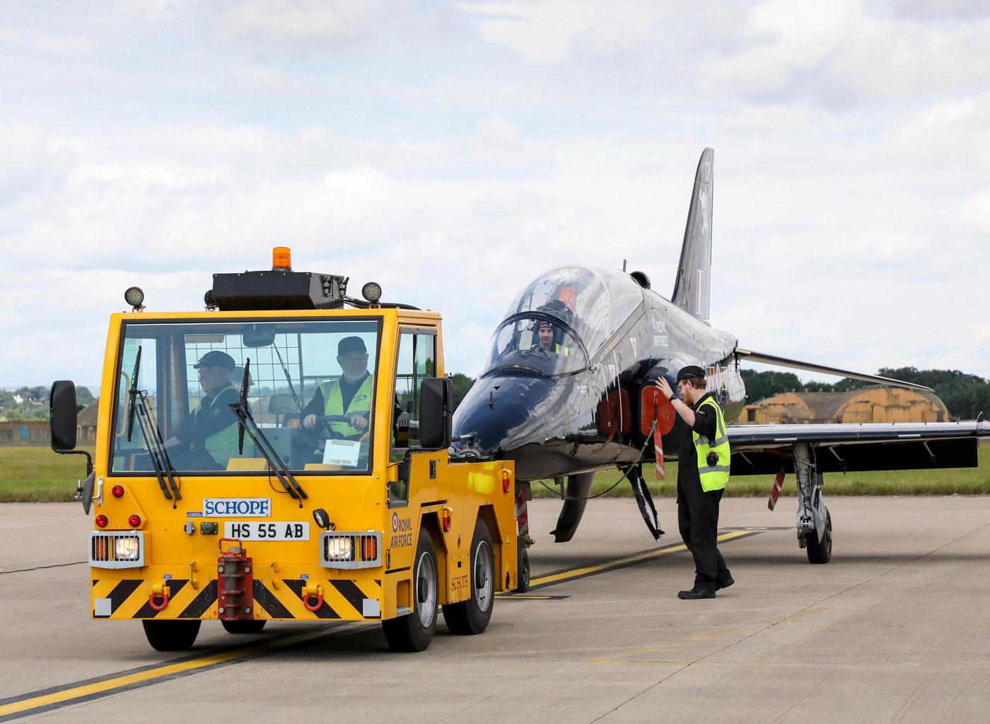 Des véhicules aéroportuaires à hydrogène au Royaume-Uni