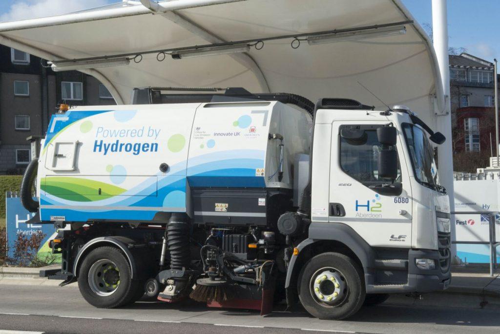 Projet Left : 14 tonnes de CO2 en moins grâce à une flotte hydrogène