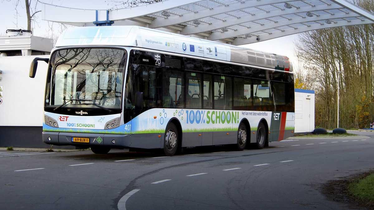 Les bus à hydrogène Van Hool ont parcouru plus de 10 millions de kilomètres