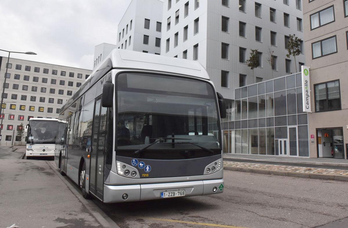 Un bus à hydrogène en démonstration à Metz
