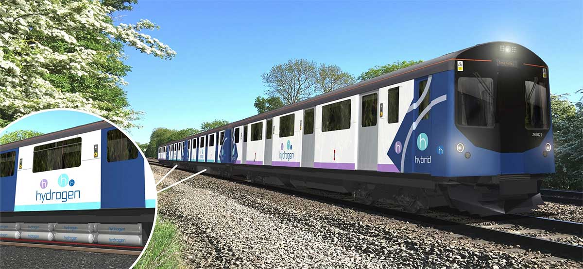 Vivarail : un troisième train à hydrogène au Royaume-Uni