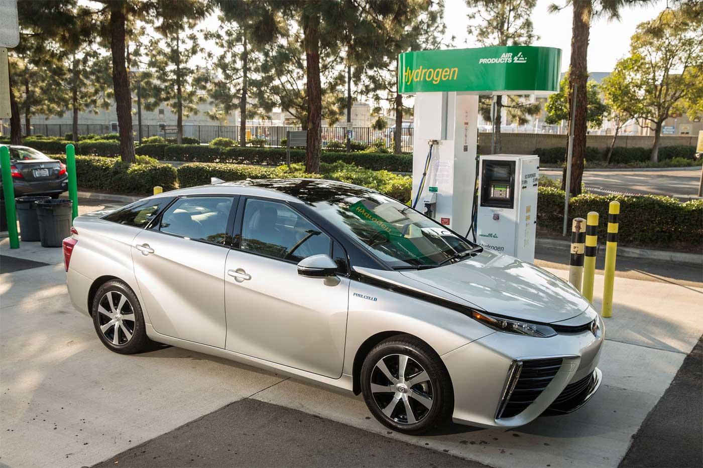 Etats-Unis : 2300 voitures à hydrogène vendues en 2018