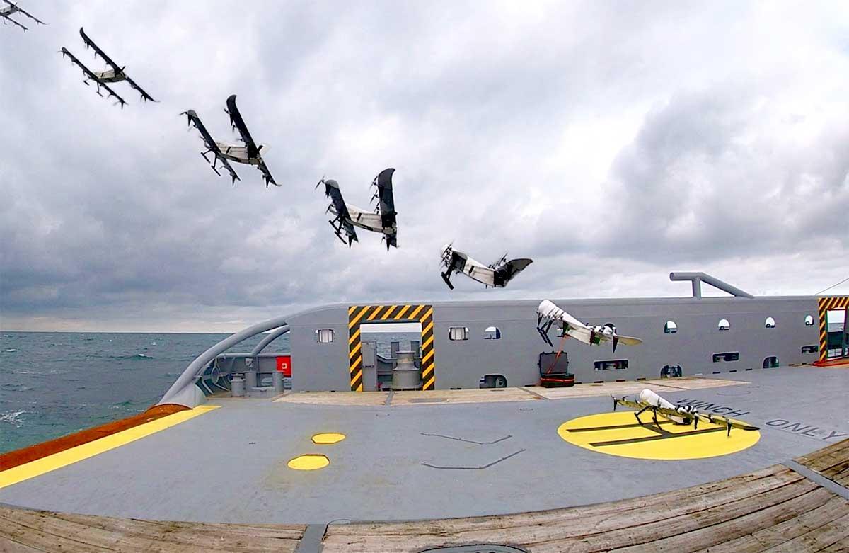Ce drone à hydrogène révolutionnaire peut voler pendant plusieurs heures