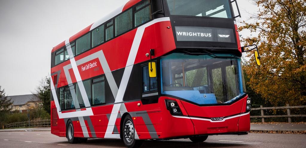 Royaume-Uni : Wrightbus propose de déployer 3.000 bus à hydrogène d'ici 2024