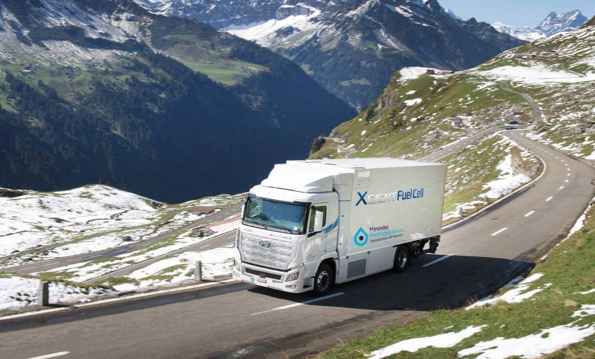 Hyundai livre ses premiers camions à hydrogène en Suisse