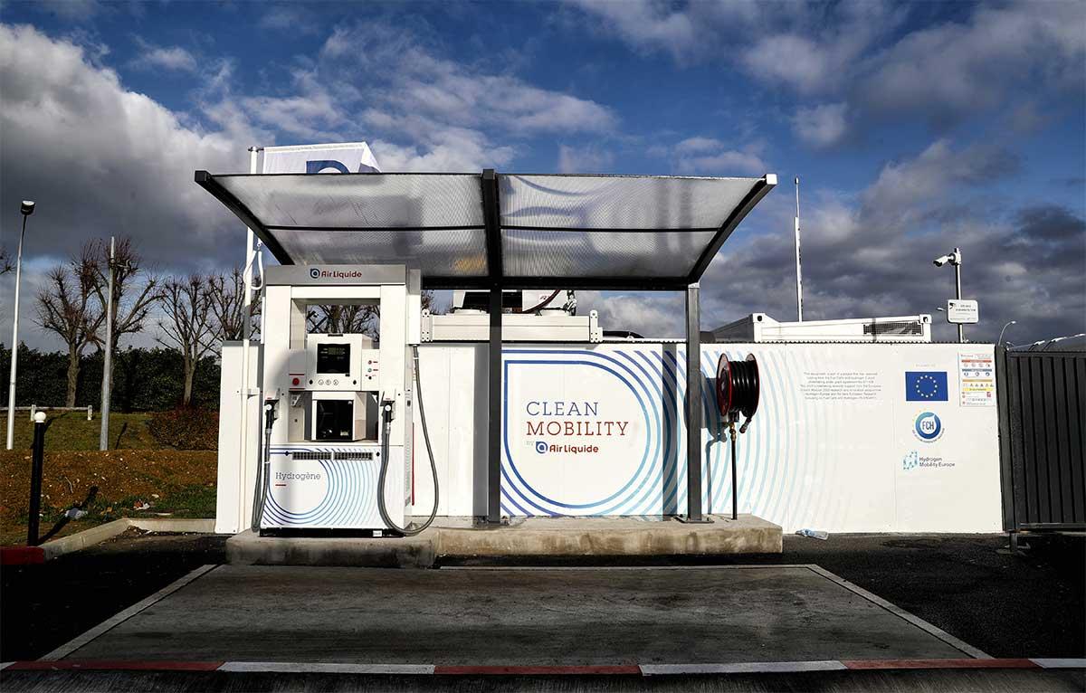 Station hydrogène Air Liquide Paray-Vieille-Poste